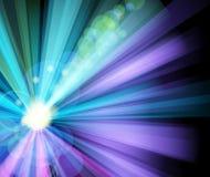 sztandaru światła przyjęcia promień Obraz Stock