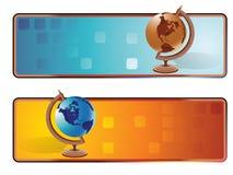 sztandaru świat ilustracja wektor