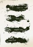 sztandaru abstrakcjonistyczny grunge Zdjęcie Stock
