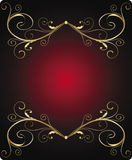 sztandaru abstrakcjonistyczny rocznik Zdjęcia Royalty Free