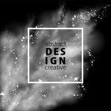 sztandaru abstrakcjonistyczny wektor Fotografia Stock