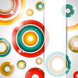 sztandaru abstrakcjonistyczny wektor ilustracja wektor