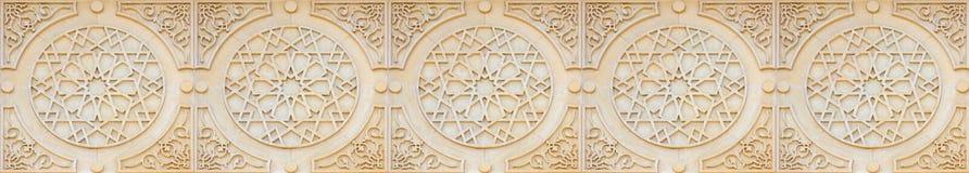 sztandaru arabeskowy styl fotografia stock