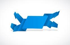 sztandaru błękit Zdjęcie Stock