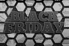 sztandaru czarny Piątek sprzedaż świadczenia 3 d obrazy royalty free