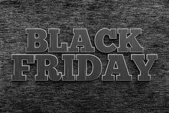 sztandaru czarny Piątek sprzedaż świadczenia 3 d obraz stock