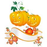 sztandaru Halloween banie Fotografia Royalty Free