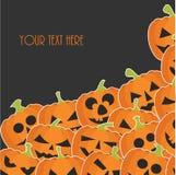 sztandaru Halloween miejsca teksta wektor twój Zdjęcie Stock