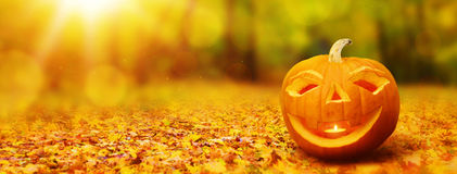 sztandaru Halloween miejsca teksta wektor twój Zdjęcia Royalty Free