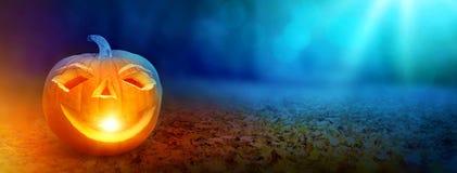 sztandaru Halloween miejsca teksta wektor twój Zdjęcia Stock