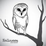 sztandaru Halloween wektor Obrazy Royalty Free