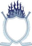 sztandaru hokej royalty ilustracja