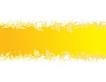 sztandaru liść Zdjęcie Stock