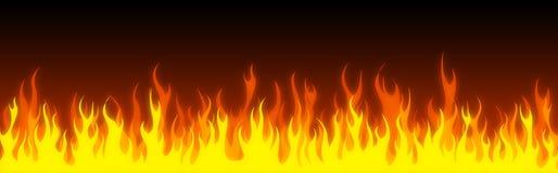sztandaru pożarnicza chodnikowa sieć Obraz Royalty Free