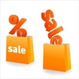 sztandaru pomarańcze sprzedaż Zdjęcia Royalty Free