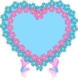 sztandaru serce Royalty Ilustracja