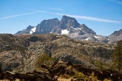Sztandaru szczyt na John Muir śladzie Obraz Royalty Free