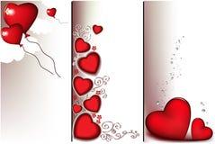 sztandaru valentine Zdjęcie Royalty Free
