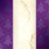 sztandaru wiktoriański złocisty purpurowy pionowo Zdjęcie Stock