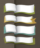 Sztandaru wyłączny projekt ilustracja wektor