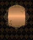 sztandaru złota rocznik Fotografia Royalty Free