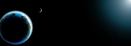sztandaru ziemska fotografii planeta realistyczna Obraz Stock