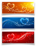 sztandarów dzień s valentine Fotografia Stock