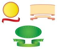 sztandary barwiący Obrazy Stock