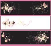 sztandary dekoracyjni ilustracja wektor