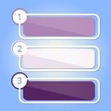 Sztandary dla twój projekta ilustracja wektor