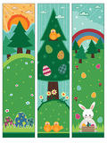 sztandary Easter Zdjęcia Royalty Free