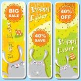 sztandary Easter ilustracji