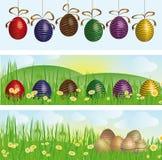 sztandary Easter Ilustracja Wektor