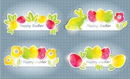 sztandary Easter royalty ilustracja