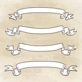 sztandary odłogowania Zdjęcie Royalty Free