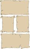 sztandary starzy ilustracji