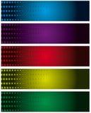 sztandary ustawiający Obraz Stock