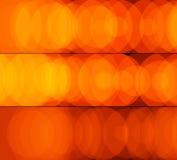 sztandary zaświecają pomarańcze - ilustracja wektor