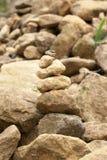 sztaplowanie kamienie Obraz Royalty Free