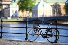 Sztokholm bicykl Zdjęcia Stock