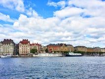 Sztokholm centrum miasta Zdjęcia Stock
