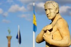 Sztokholm cityhall rzeźba Zdjęcie Royalty Free