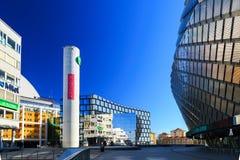 Sztokholm kuli ziemskiej miasto Tele2 arena Obrazy Royalty Free
