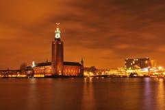 Sztokholm linia horyzontu Fotografia Royalty Free