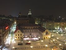 Sztokholm miasta muzeum Obrazy Stock