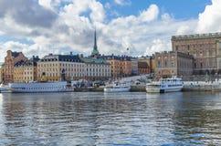 Sztokholm miasta panorama Zdjęcie Royalty Free