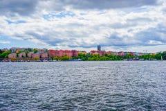 Sztokholm miasto Zdjęcia Stock