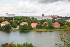 Sztokholm miasto Zdjęcie Stock