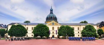Sztokholm militarny Muzeum, Szwecja Fotografia Royalty Free