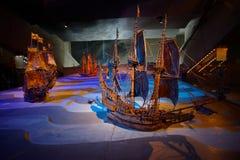 Sztokholm muzeum łodzie Fotografia Royalty Free